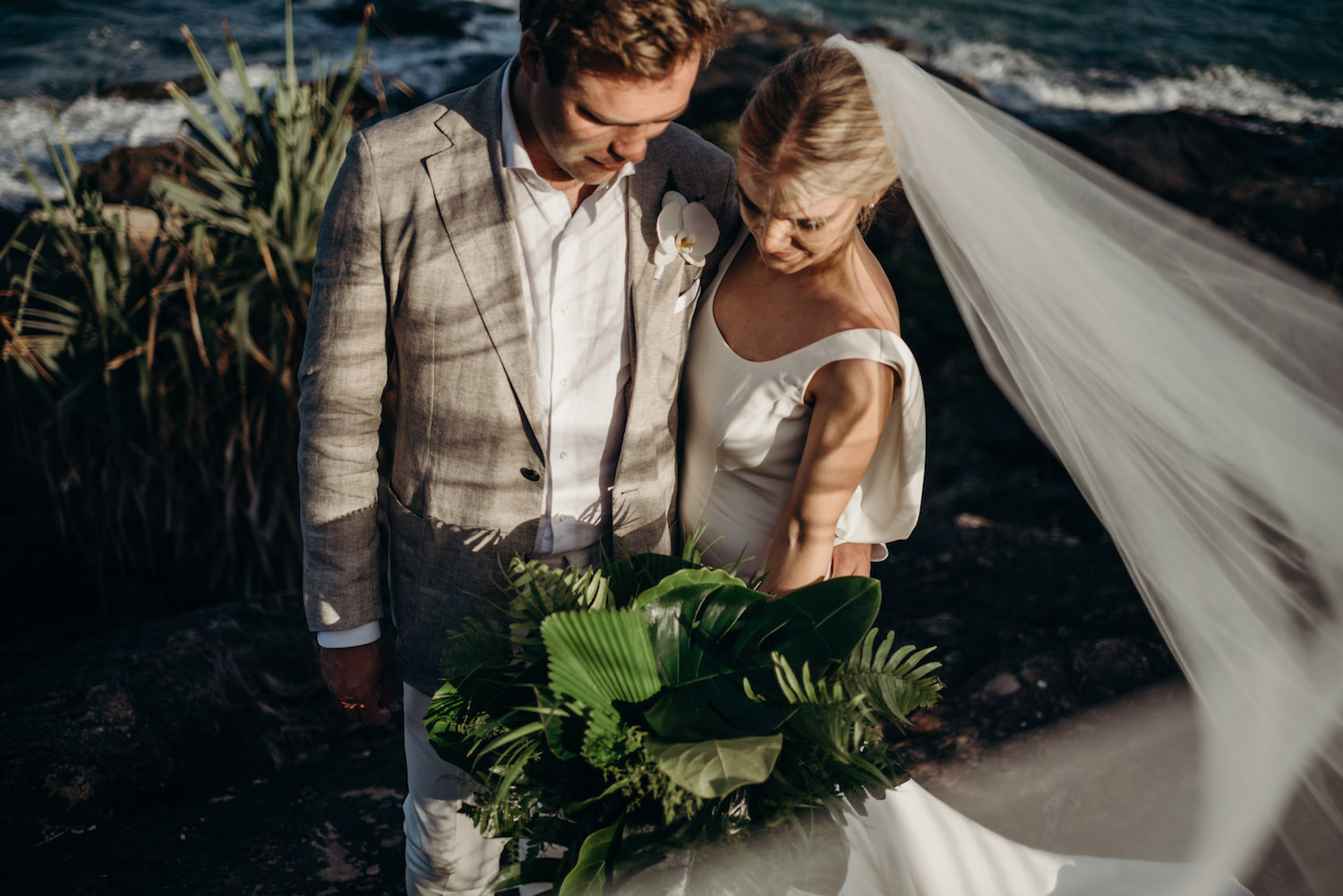 port douglas couple wedding